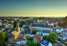 Hattingen Old Town features timber-framed houses