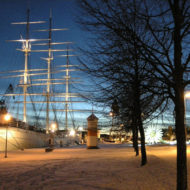 Turku is a city on the southwest coast of Finland at the mouth of the Aura River