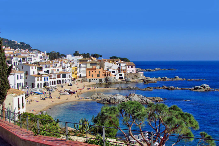 Calella de Palafrugell is one of three coastal towns belonging to the municipality of Palafrugell, province of Girona