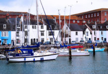 Weymouth is a seaside town in Dorset, southern England