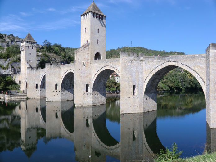 known as the finest medieval fortified bridge in France.