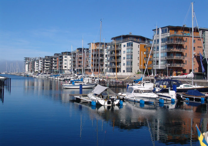 Malmo is Sweden's third largest city with a population of over 300,000, and the capital of the province of Skane