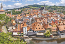 Český Krumlov is a stunningly beautiful town in southern Bohemia, and after Prague Czechia's second most visited tourist attraction