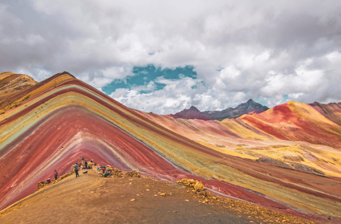 """The particularity of this mountain has led it to be """"one of the 100 destinations to travel to before dying"""" according to National Geographic."""