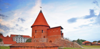 Kaunas Castle is the oldest walled castle in Lithuania