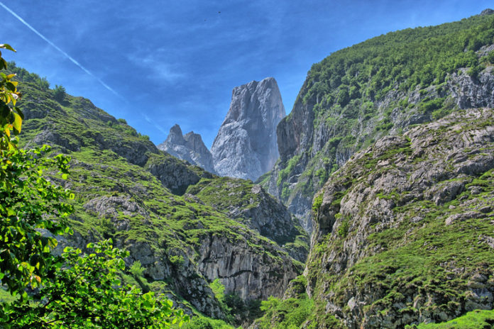 The Picos de Europa are a mountain range located along the northern coast of Spain