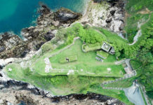 Clarence Battery, originally called Terres Point Battery when it was built in 1780 in the outer defences of Fort George