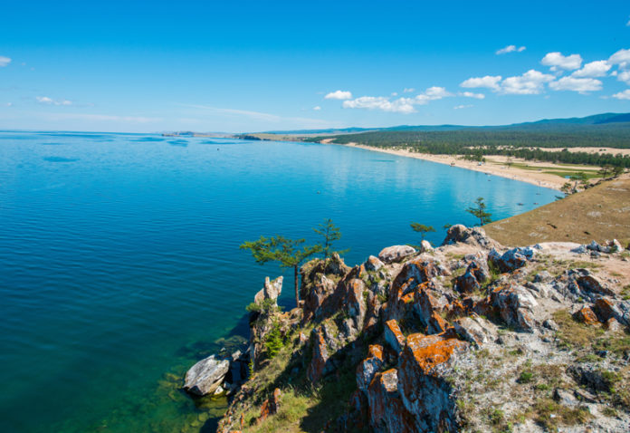 the island is a popular holiday destination for tourists from Irkutsk and other parts of Siberia. There are also summer camps, especially a Nikita colony on Mala Moue Island.