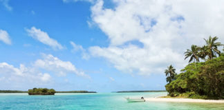 this pearl of the Pacific is a natural site inscribed on the UNESCO world heritage since 2008