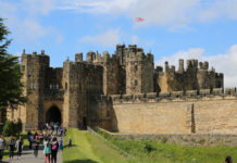 Alnwick Castle is a castle and country house in Alnwick in the English county of Northumberland