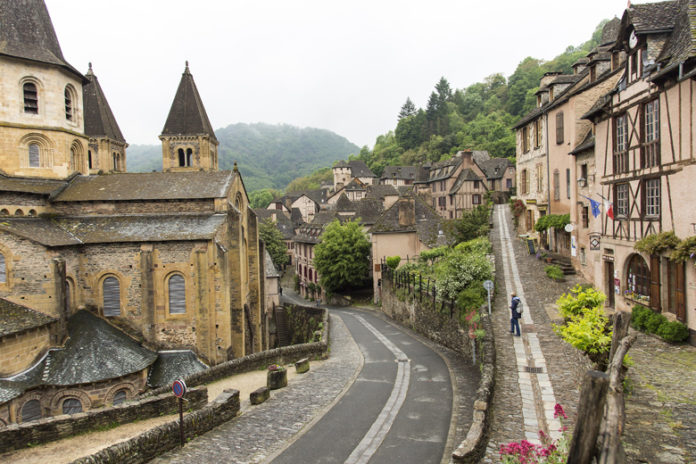 The Abbey and the Bridge of the Pilgrims have been awarded as part of the UNESCO World Heritage