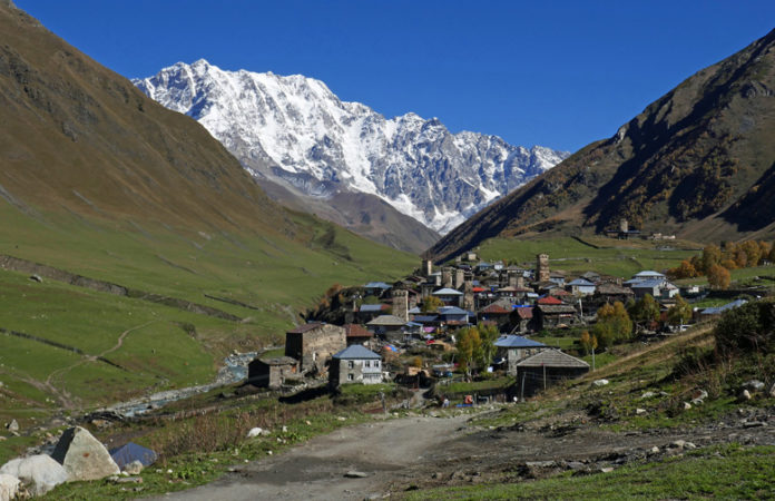 Ushguli is a community of 4 villages located in Upper Svanezia, a historic region of Georgia.
