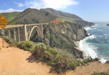 Big Sur is a region on the Central Coast of California. It contains vast wildernesses and breathtaking views as it stretches 72 miles along the rugged Pacific Ocean