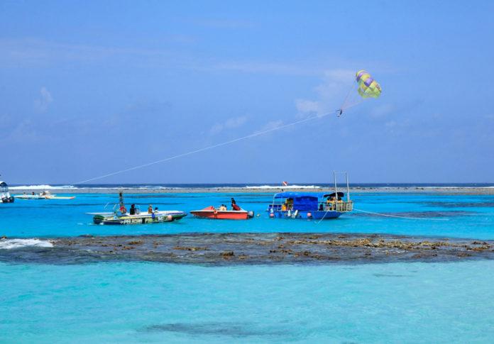 Mañagaha is popular among Saipan's tourists as a day-trip destination
