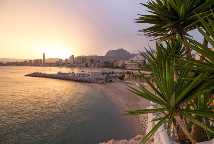 Benidorm enjoys a particularly mild climate that contributes to its popular success. Formerly a fishing town, it became in the second half of the twentieth century a seaside resort known for its beaches and nightlife. It is one of the most popular destinations in the Mediterranean.