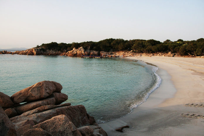 Capriccioli beach is on the list of the most beautiful beaches of the Costa Smeralda.