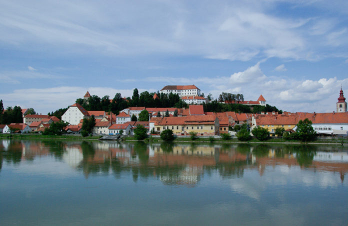 Ptuj is an ancient city of Slovenia. It is located on the Drava, downstream from Maribor