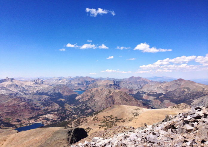 This pass is 3,031 meters high and is one of the highest mountain roads in the state of California.