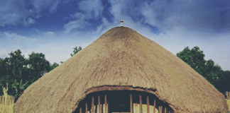 The Kasubi Tombs are the tomb and burial place of the kings (Kabakas) of Buganda on the Kasubi hill in Kampala, the capital of Uganda