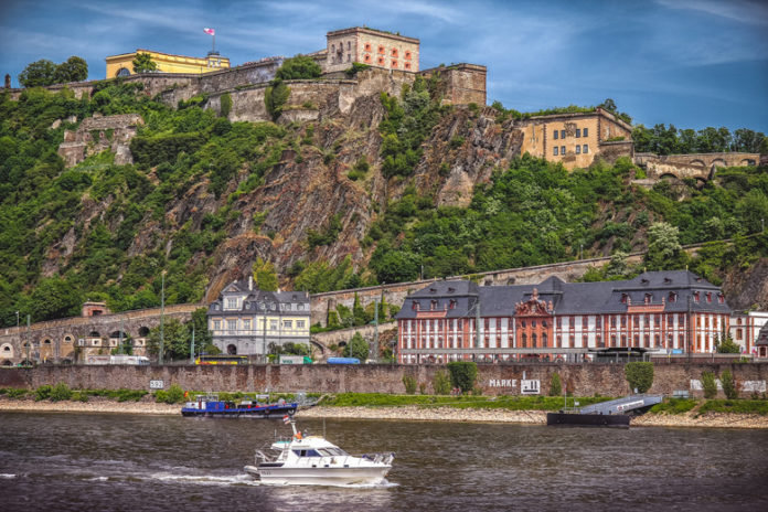 In 2002 the Upper Middle Rhine Valley became a UNESCO World Heritage Site. The site includes it as the northernmost point of the Erenbritstein Fortress.