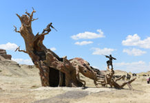 Ghost Town Scenic Area is 6 km from the suburb of Wuerhe. As a national-level AAAA scenic area, Being one of the few typical wind erosion landscapes in the world