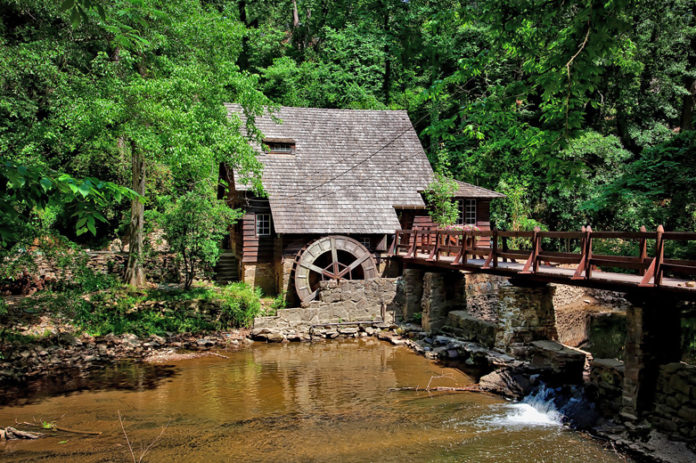 This is a historic mill built by Robert Jemison Jr. who was also known as the