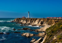 Point Arena Lighthouse It is registered at the California Historical Landmark