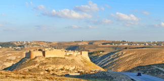 Shoubak Castle, formerly known as Montreal or Mont Real is a crusader fortress on the eastern side of the Arava Valley