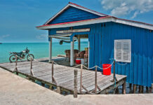 Koh Rong is a fishing village and deserted wild beaches. These pristine beaches attract tourists with their purity and virginity