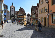 Rothenburg on the Tauber River is rightfully considered one of the most authentic and photogenic old cities in Bavaria.
