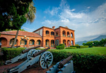 Fort Santo Domingo is a historic fortress located in the Tamsui District of New Taipei City. Originally built as a wooden fort by the Spaniards in 1628