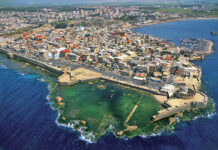 By israeltourism from Israel - AERIAL VIEW OF ACRE, CC BY-SA 2.0, https://commons.wikimedia.org/w/index.php?curid=24697323